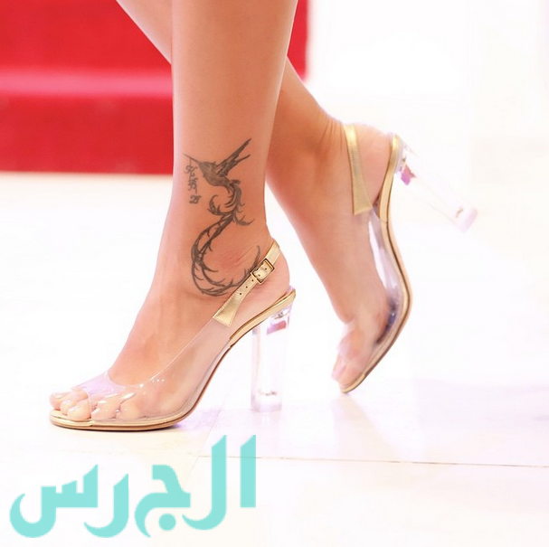 تاتو لطیفه Henna Stickers in ARABIC WRITING TATTOO BODY ART - The Art Wall