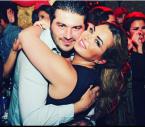 النجم السوري يزن السيد وزوجته