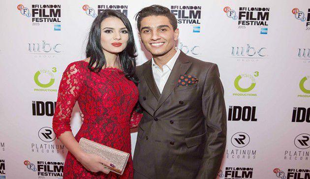 محمد عساف وخطيبته السابقة الإعلامية لينا قيشاوي