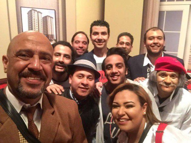 أشرف عبد الباقي وفرقته