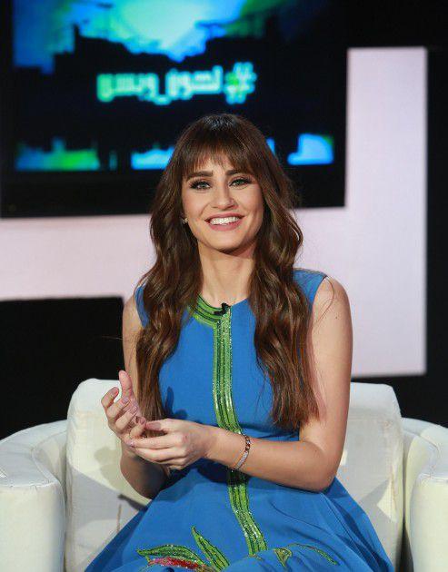 الإعلامية والممثلة اللبنانية إيميه صياح