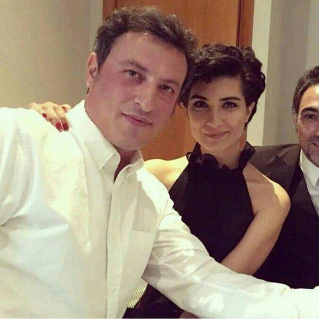 التركية لميس مع زوجها