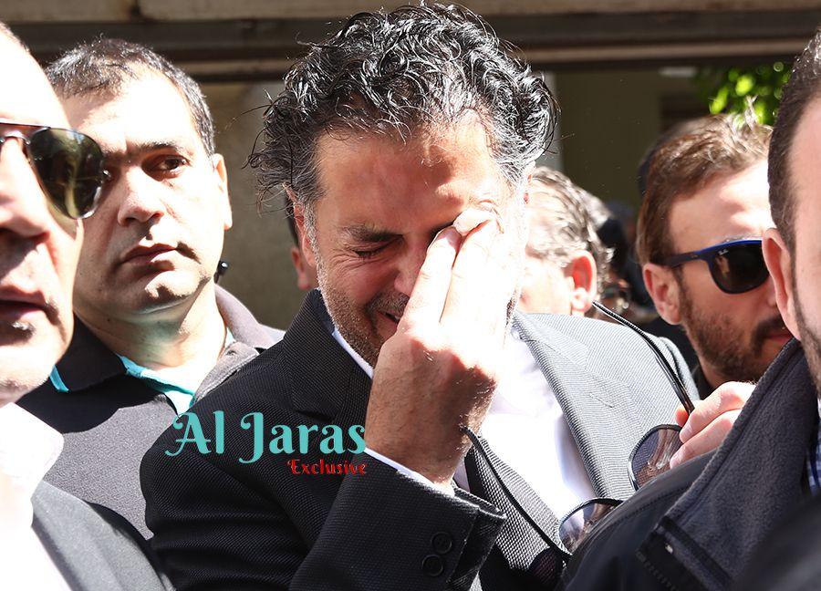 راغب يبكي ولده السيد صبحي