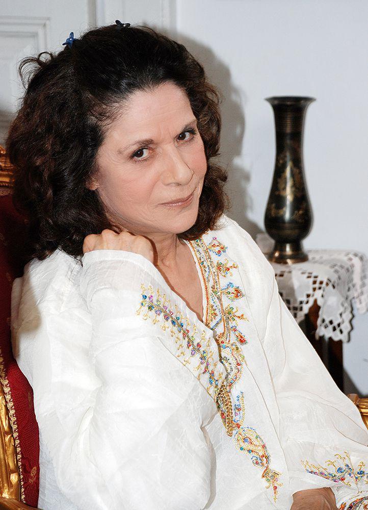الممثلة السورية القديرة سامية الجزائري