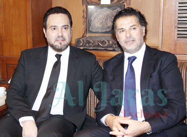 راغب علامة يصبح صديق عاصي مع مدير عام الأمن العام - صور