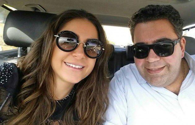 ديما قندلفت هل انفصلت عن زوجها وتعيش تعيسة بالصور مجلة الجرس