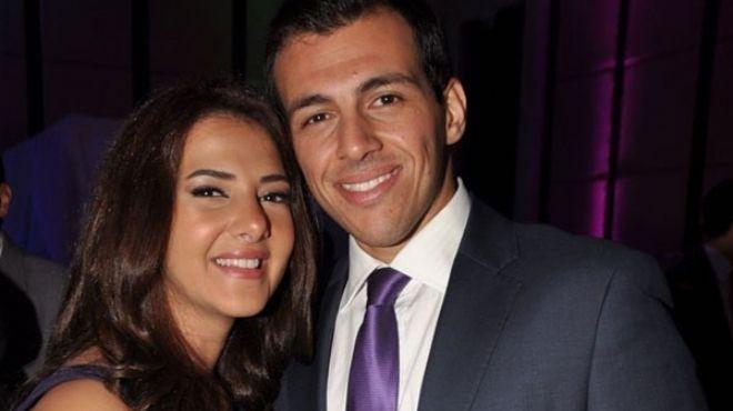 رسالة زوج دُنيا سمير غانم لشقيقتها وعريسها بعد زفافهما ...