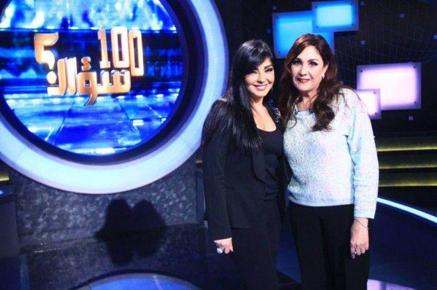 الممثلة المصرية شيرين الإعلامية راغدة شلهوب