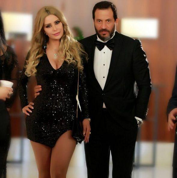 ميرنا شلفون بأجرأ فستان مع ماجد المصري! – بالصورة | مجلة الجرس