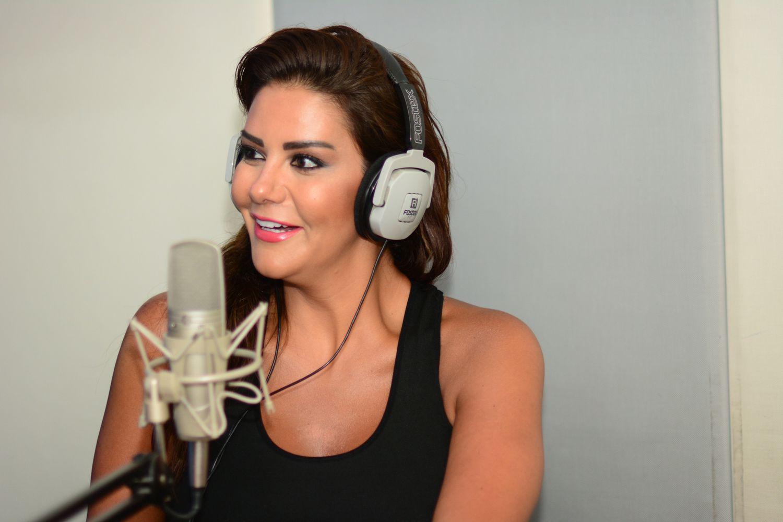 الممثلة السورية نظلي الرواس