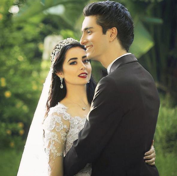 النجمان المصريان هبة مجدي ومحمد محسن