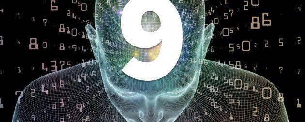هذه ليست لعبة ولا مصادفة بل هي أن الرقم 9 يتغلب على كل الأرقام