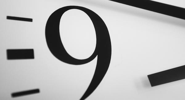 9 رقم أنثوي أكثر منه ذكري.