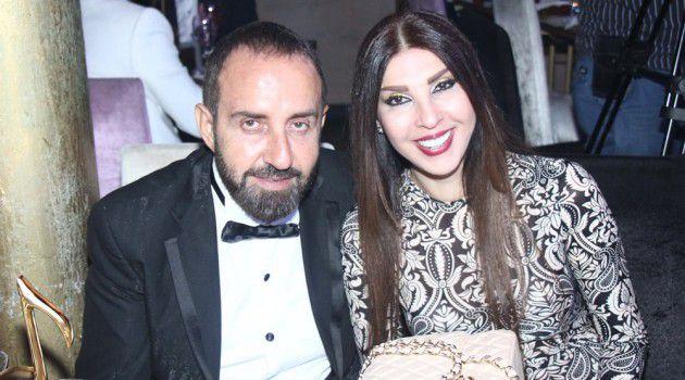 الملحن وسام الأمير وزوجته الجميلة ناريمان عبود
