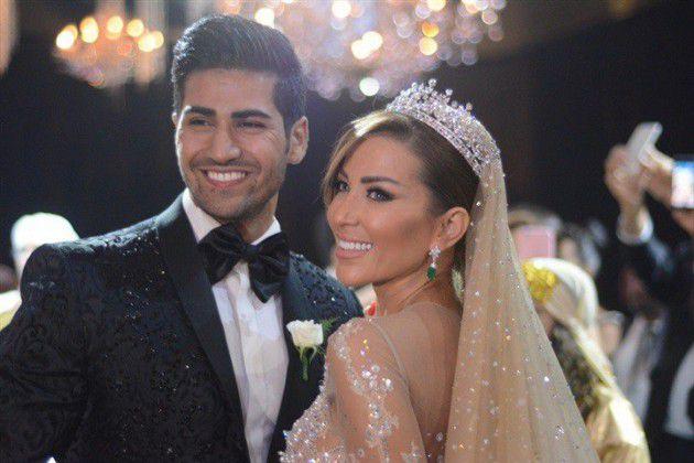 ملك جمال لبنان ربيع الزين وأخصائية التغذية آنجي قصابية