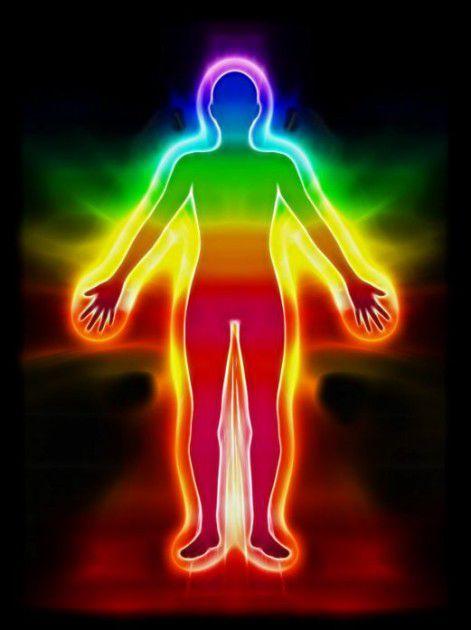 الهالة حول الجسم سبعة ألوان