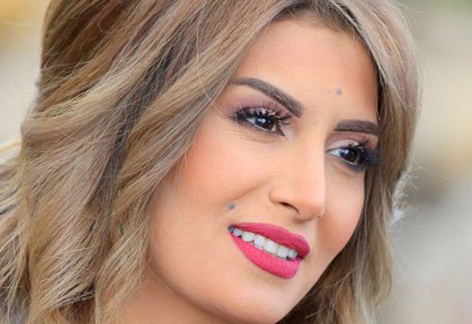 الفنانة السورية رويدا عطية