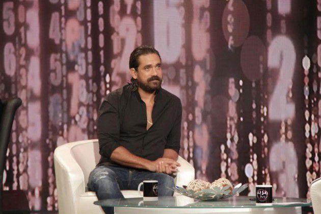 الفنان المصري أمير كرارة في أحد البرامج التلفزيونية