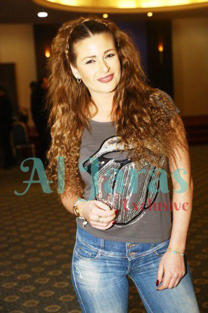 الممثلة اللبنانية باميلا الكيك