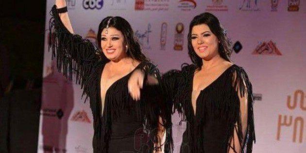الفنانة فيفي عبده وابنتها عزة مجاهد