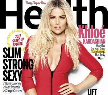 كلوي كاردشيان على غلاف مجلة Health