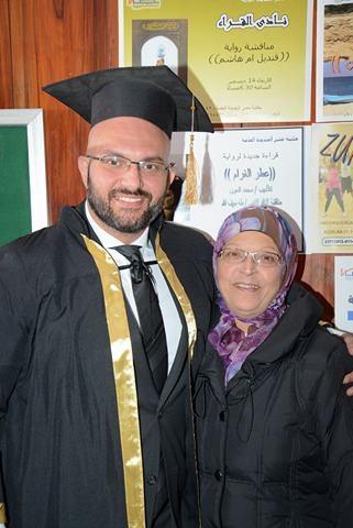 دكتور باسم السواح ووالدته
