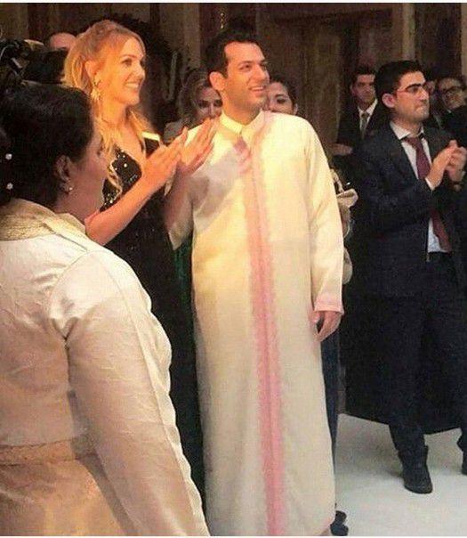 مراد يلدريم وزوجته إيمان الباني مع مريم أوزرلي