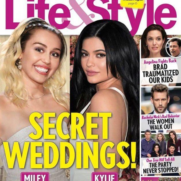 أنجلينا جولي على غلاف مجلة Life & style