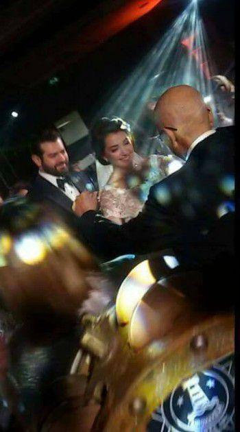 عمرو يوسف وكندة علوش يحتفلان بزفافهما
