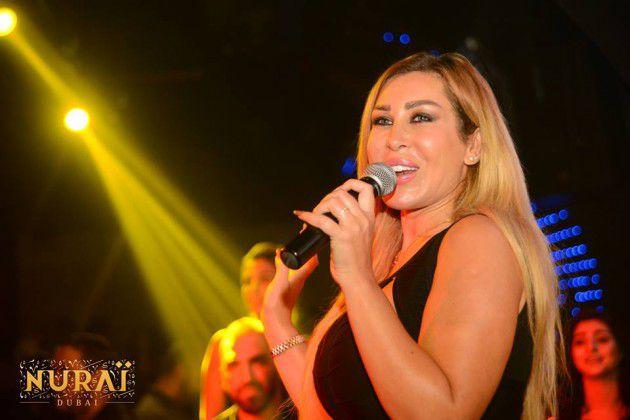 المطربة اللبنانية نورهان