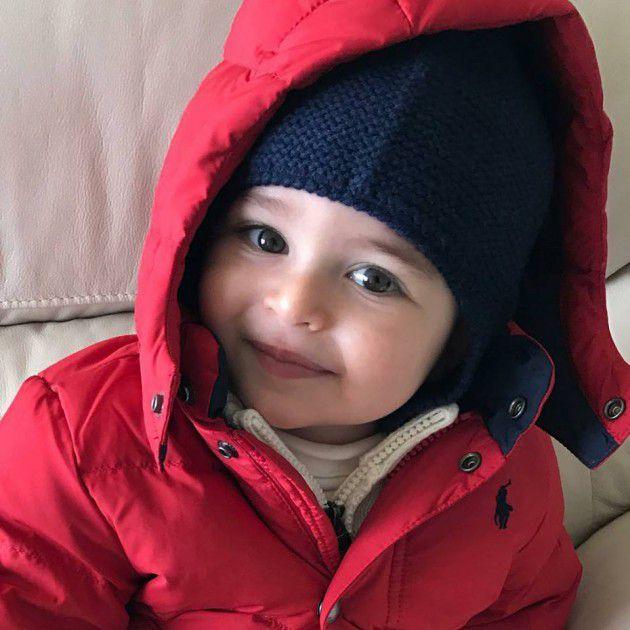 جايدن ابن ميريام فارس بأحدث صورة له