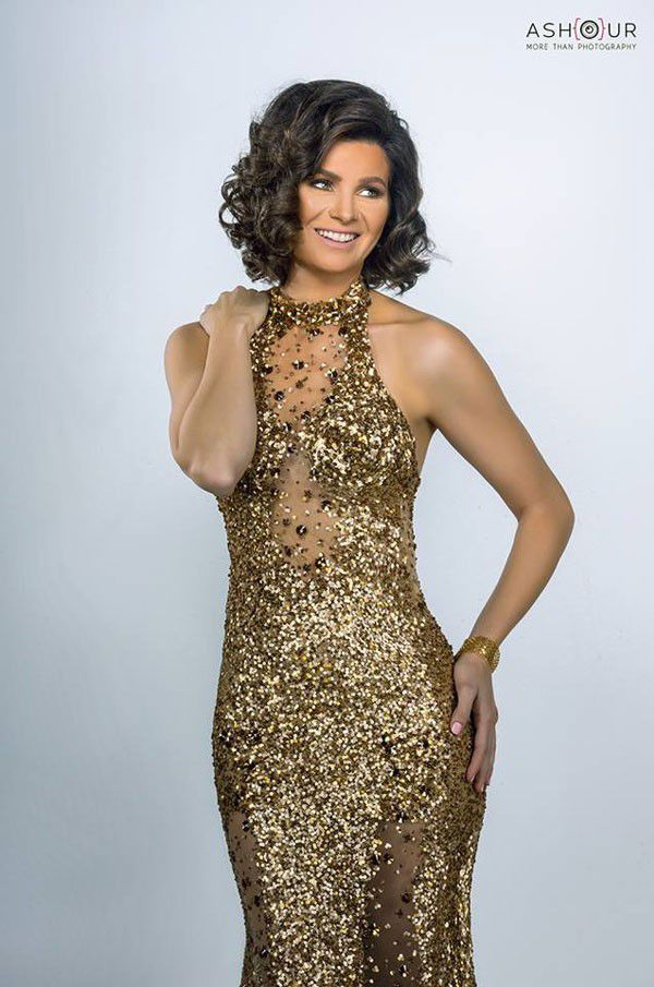 الممثلة المصرية يسرا اللوزي بأحدث جلسة تصوير