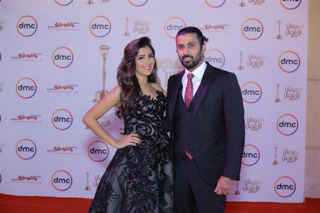 المخرج محمد سامي وزوجته الفنانة مي عمر