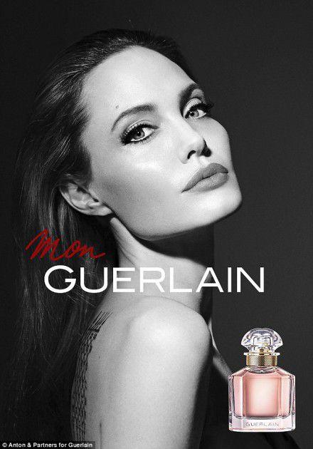 أنجلينا جولي بإعلان عطر جديد