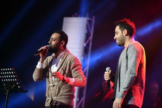 تامر عاشور يغني اوعديني مع النجم رامي جمال