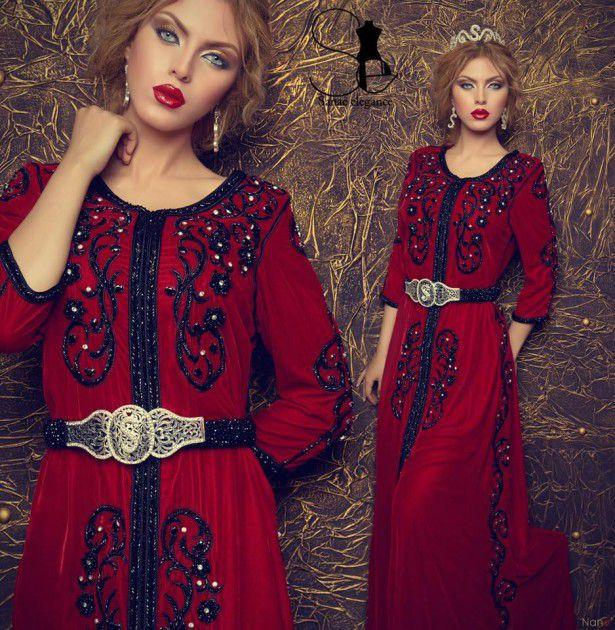 فستان من تصميم سناء اليغونس
