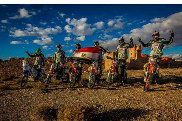 فريق رالى مصر للدراجات النارية