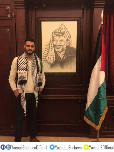 الفلسطيني يعقوب شاهين، الفائز بلقب الموسم الرابع من برنامج (آراب أيدول)