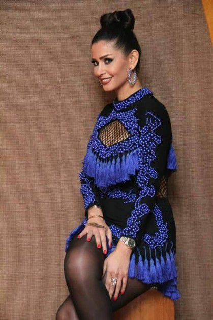 الممثلة التونسية ساندي