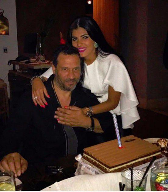 زوجة ماجد المصري تحتفل بعيد ميلاده