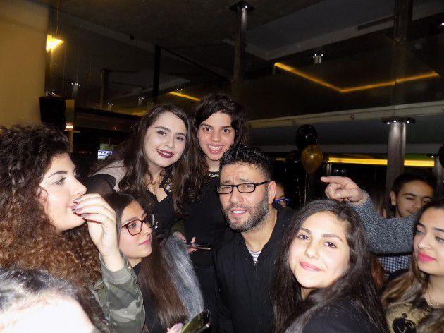 الفنان اللبناني زياد برجي يحتفل بعيد ميلاده