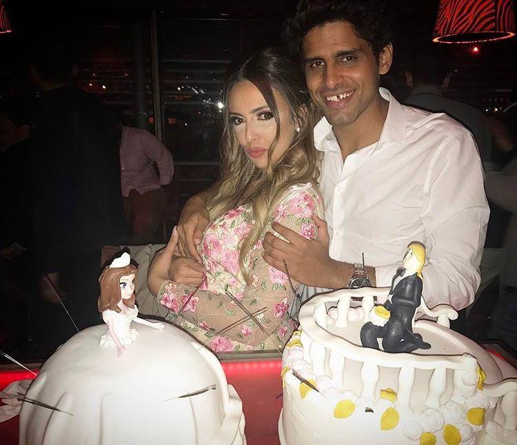 النجمان المصريان حمدي المرغني وإسراء عبد الفتاح يحتفلان سوياً بزواجهما
