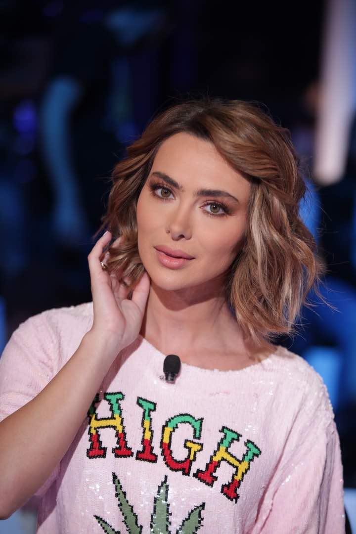 الممثلة اللبنانية ستفاني صليبا