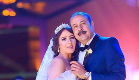 سناء يوسف وعمرو مكين من حفل زفافهما