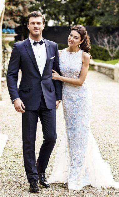 كيفانش تاتليتوغ وزوجته التي تكبره بسنوات