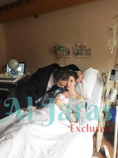 د. نادر صعب يقبل مولوده الجديد