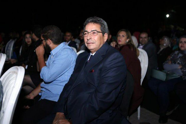 الإعلامي محمود سعد في حفل أنغام