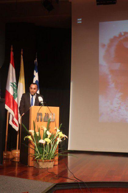 نائب رئيس تحرير ومراسل أخبار محطة الـmtv، جورج عيد