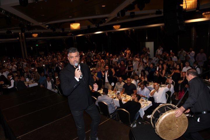فارس كرم أحيا حفلاً غنائياً في L'amour Reception في مدينة ملبورن