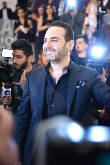 وائل جسار يحصل على جائزة نجم البلد المضيف